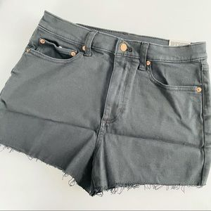 VS pink high waisted cut off shorts size 28 new